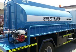 sweet water supply in Dubai
